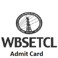 WBSETCL AE Admit Card