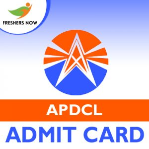 APDCL Admit Card 2019