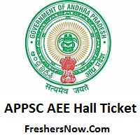 APPSC AEE Hall Ticket 2019