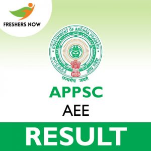 APPSC AEE Result 2019