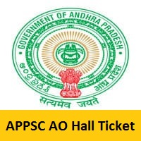 APPSC Agriculture Officer Hall Ticket