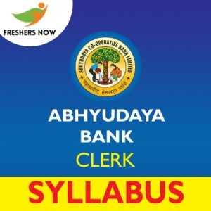 Abhyudaya Bank Clerk Syllabus 2019
