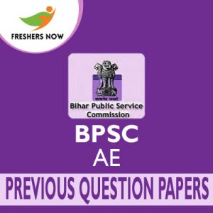BPSC AE Previous Question Papers