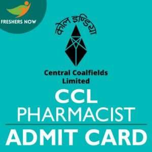 CCL Pharmacist Admit Card 2019