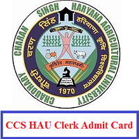 CCS HAU Clerk Admit Card