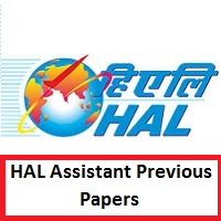 HAL Assistant Previous Papers