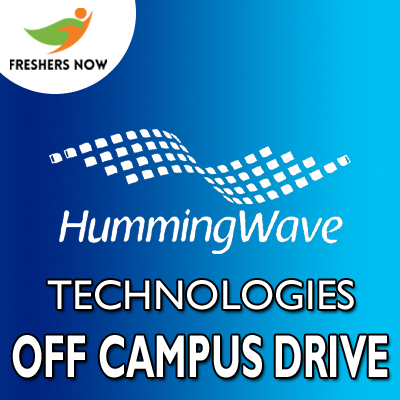 HummingWave Technologies Off Campus 2019