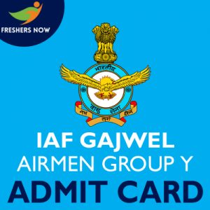 IAF Gajwel Airmen Group Y Admit Card 2019