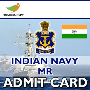 Indian Navy MR Admit Card 2019