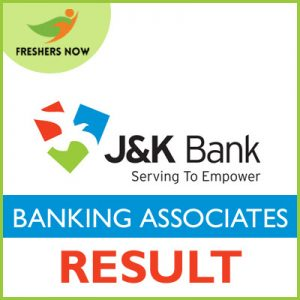 JK Bank Banking Associates Result 2019