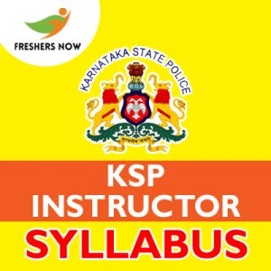 KSP Instructor Syllabus 2019