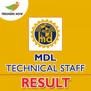 MDL Technical Staff Result 2019