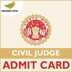 MP Civil Judge Admit Card 2019