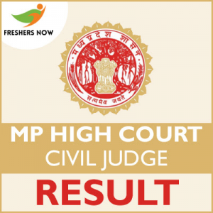 MP High Court Civil Judge Result 2019