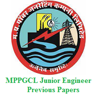 MPPGCL Junior Engineer Previous Papers