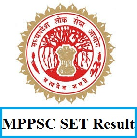 MPPSC SET Result