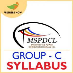 MSPDCL Group C Syllabus 2019