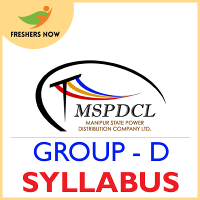 MSPDCL Group D Syllabus 2019