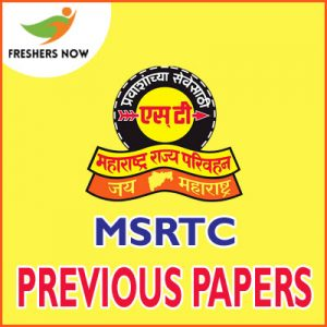MSRTC Previous Papers