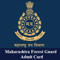Maharashtra Forest Guard Admit Card