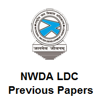 NWDA LDC Previous Year Question Papers PDF Download