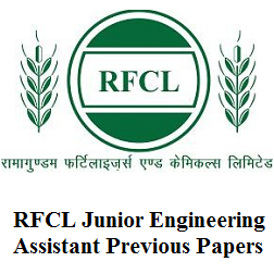 RFCL Junior Engineering Assistant Previous Papers