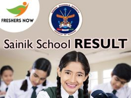Sainik School Result