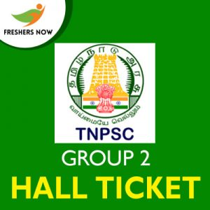TNPSC Group 2 Hall Ticket 2019