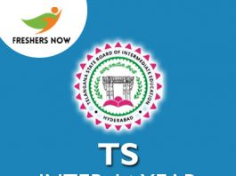 TS Inter 1st Year Hall Ticket