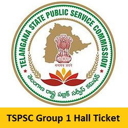 TSPSC Group 1 Hall Ticket