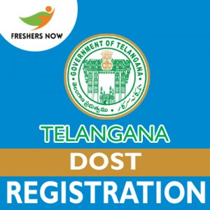 Telangana DOST Registration 2019