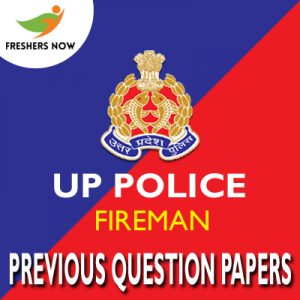 UP Police Fireman Previous Question Papers