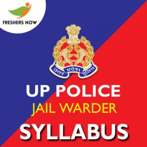 UP Police Jail Warder Syllabus 2019 PDF Download | Exam Pattern