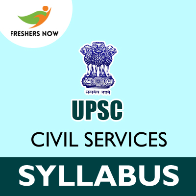 UPSC Civil Services Syllabus 2019
