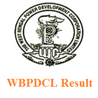 WBPDCL Result
