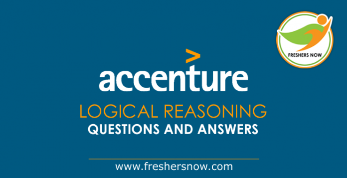 Accenture Logical Reasoning Questions and Answers