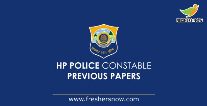 HP Police Constable Previous Papers