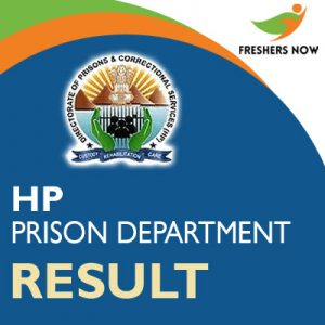 HP Prison Department Result 2019