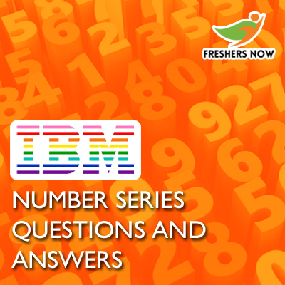IBM Number Series Questions and Answers
