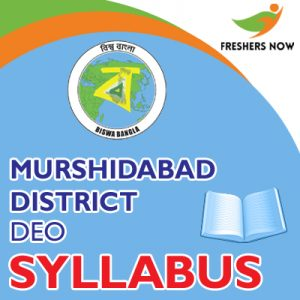 Murshidabad District DEO Syllabus 2019