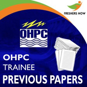 OHPC Trainee Previous Papers