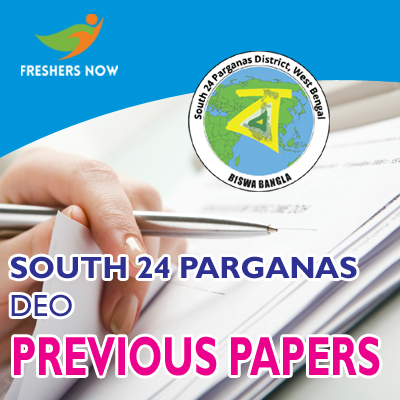 South 24 Parganas DEO Previous Papers
