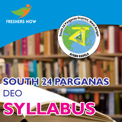 South 24 Parganas DEO Syllabus 2019