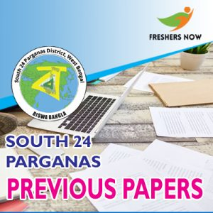 South 24 Parganas Previous Papers