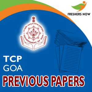 TCP Goa Previous Papers
