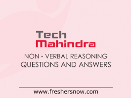 Tech Mahindra Non-Verbal Reasoning Questions and Answers