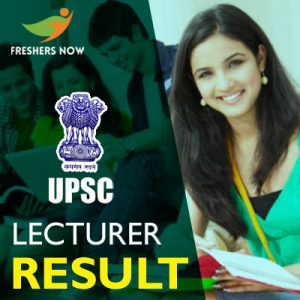 Union PSC Lecturer Result 2019