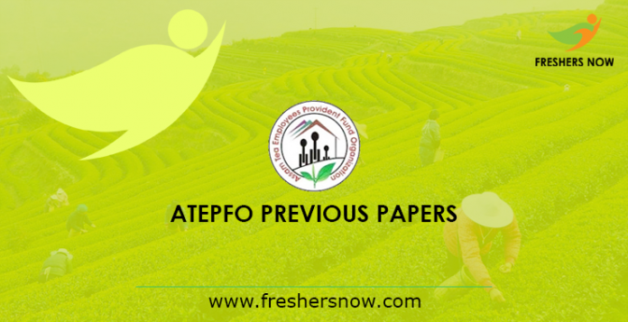 ATEPFO Previous Papers