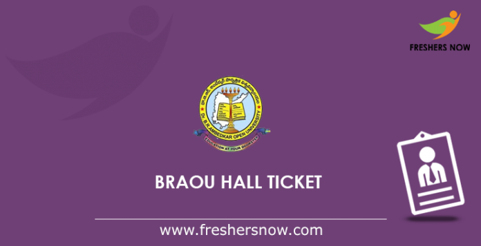 BRAOU Hall Ticket