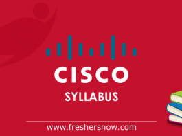 Cisco Syllabus Test Pattern